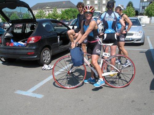 Sandrinette et sa bicyclette
