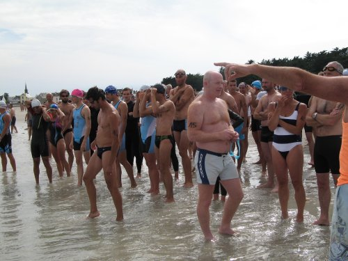 avant natation