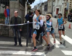 Solène REMY Stéphanie LE FLOCH Nathalie DEGUEN de l'équipe 2 TC Quimper F