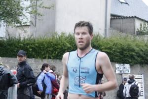 Luc Sieurin en course à pied