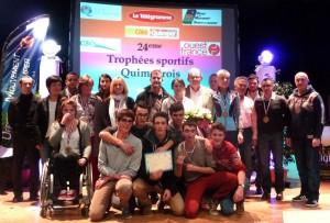 Podium Trophées des sportifs QUIMPER 2013