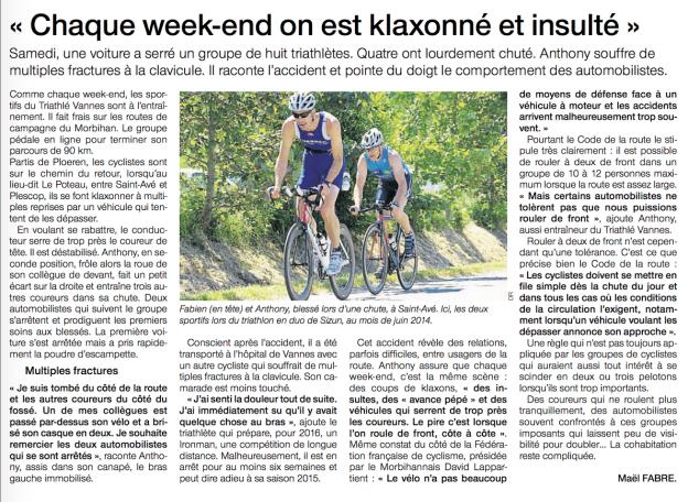article vélo