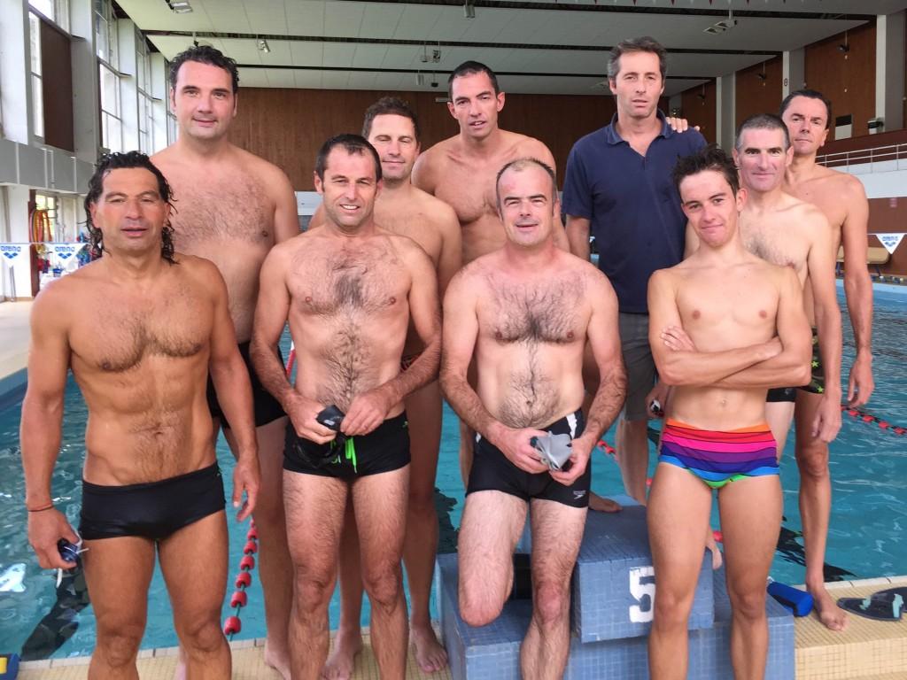 Entrainement Triathlon club de Quimper (TCQ), piscine de Kerlan Vian, Penhars, Quimper. Mardi 8 septembre 2015