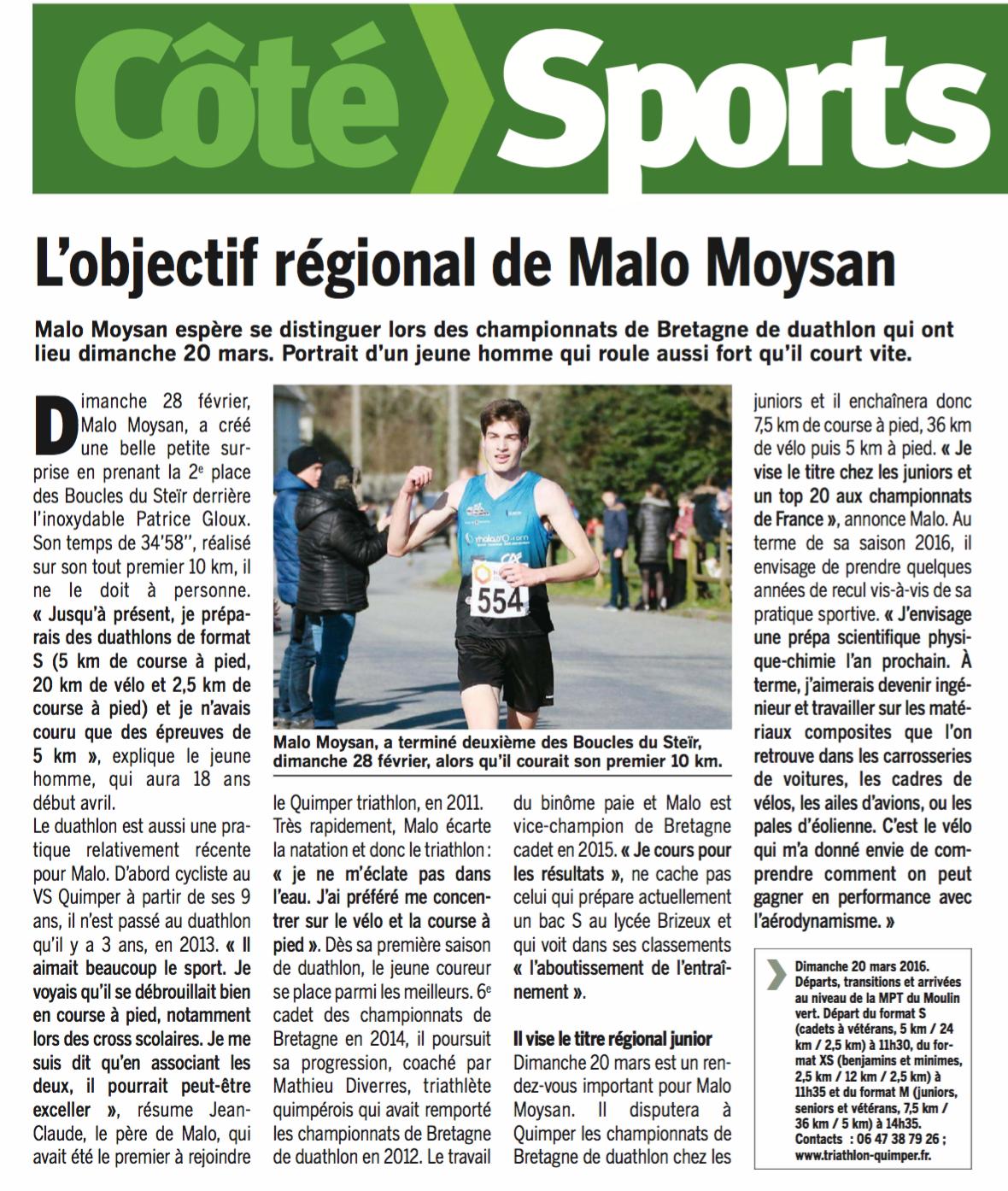 Côté Quimper - Malo Moysan