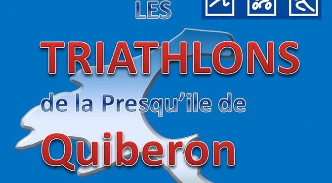 Résultats triathlons de Quiberon / Foulées châteaulinoises et de Menfouest / Tour de Morgat à la nage / M d'Istres /