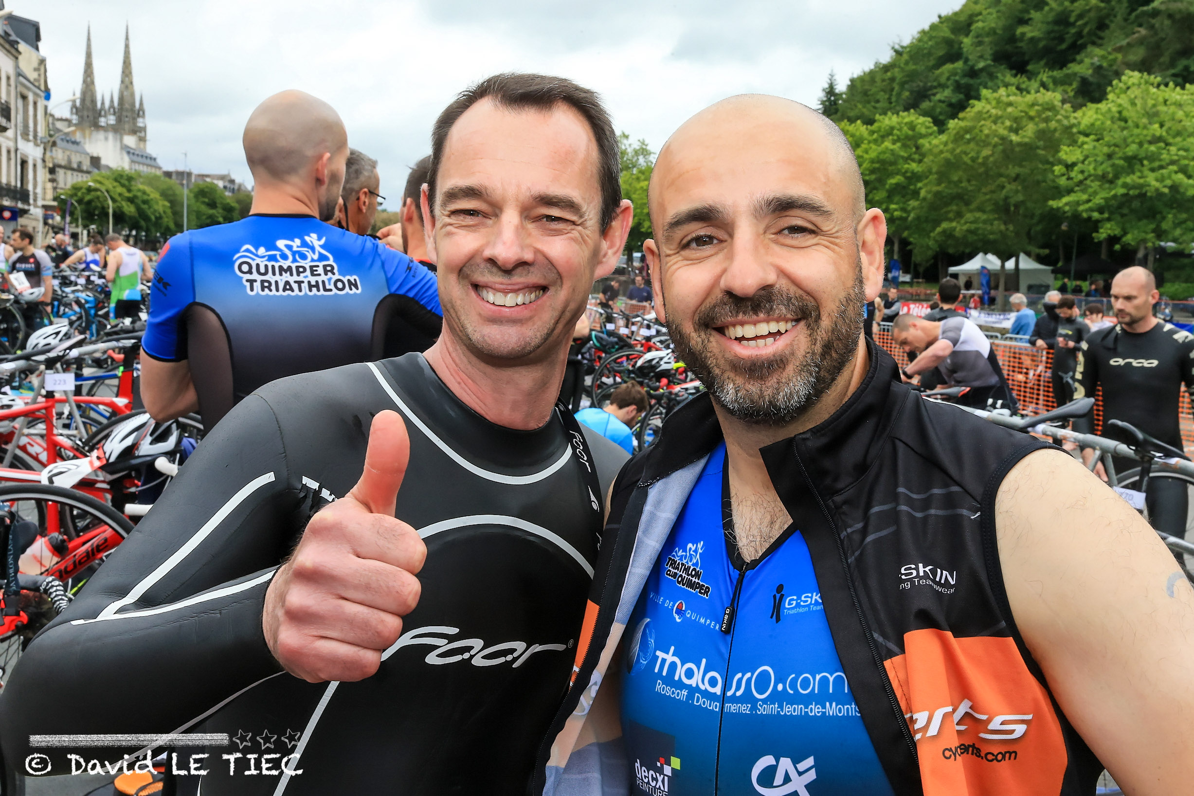 Photos du triathlon de Quimper 2019