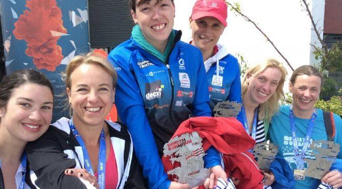 Des victoires à Plougastel (trail), Fouesnant (swimrun) et Plérin (triathlon) le dimanche 14 mai 2017