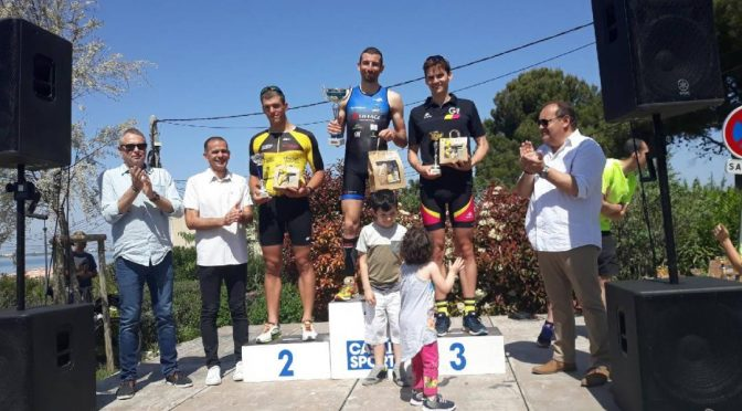 Triathlon Sprint de Vitrolles, Sébastien Baillot 4°