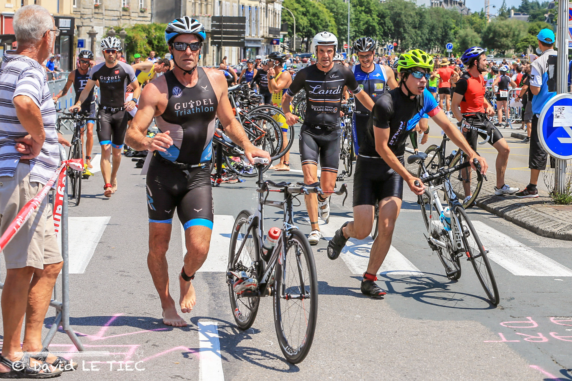 Photos du triathlon de Quimper 2018