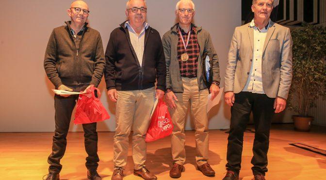 Trophée du bénévole de l'année pour Bertrand Berrou