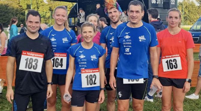 Résultats run & bike et Guidel, marathon de Vannes et de Paris, swimrun de Saint-Nazaire, trail de Plomelin et , 16 et 17 octobre 2021